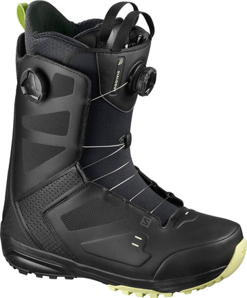 2021 Salomon Dialogue Dual Boa Wide Jp Mens Snowboard Boot in Black