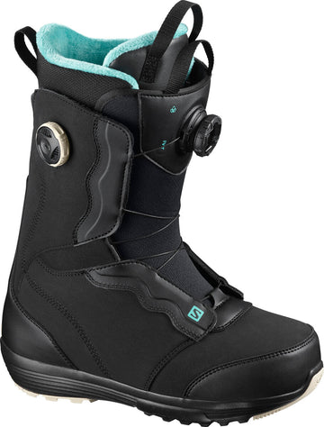 2021 Salomon Ivy Boa Womens Snowboard Boot in Black