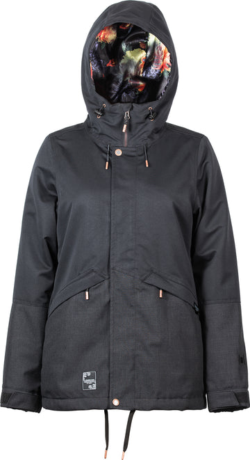 2021 L1 Lalena Womens Snow Jacket in Black
