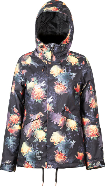 2021 L1 Lalena Womens Snow Jacket in Floral Bloom