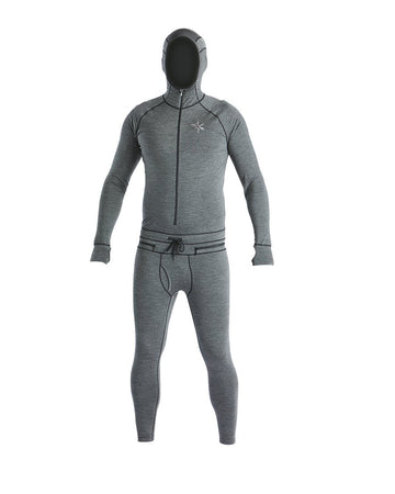 2020 Airblaster Mens Merino Wool Ninja Suit in Black