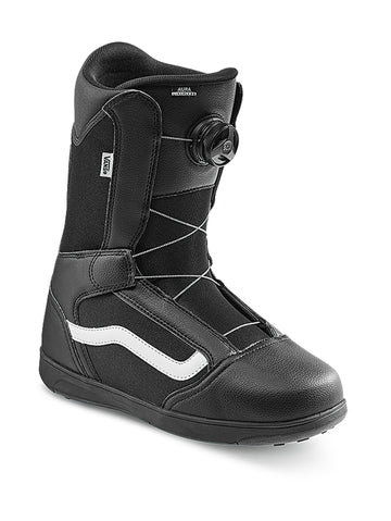 2021 Vans Aura Linerless Snowboard Boot in Black and White