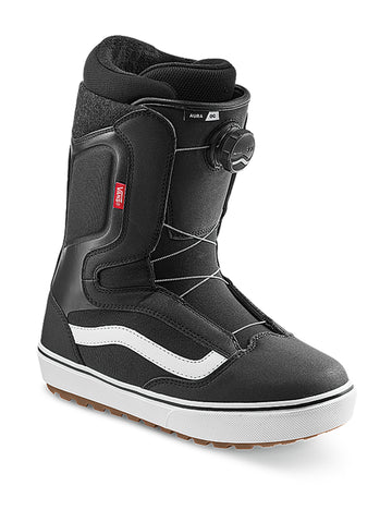 2021 Vans Aura OG Snowboard Boot in Black and White