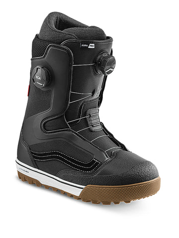 2021 Vans Aura Pro Snowboard Boot in Black and White