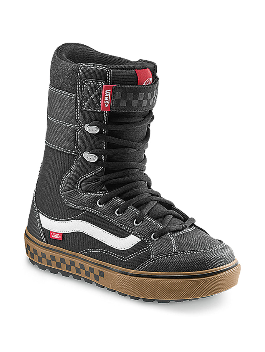 2021 Vans Hi-Standard Linerless DX Snowboard Boot in Black and Gum
