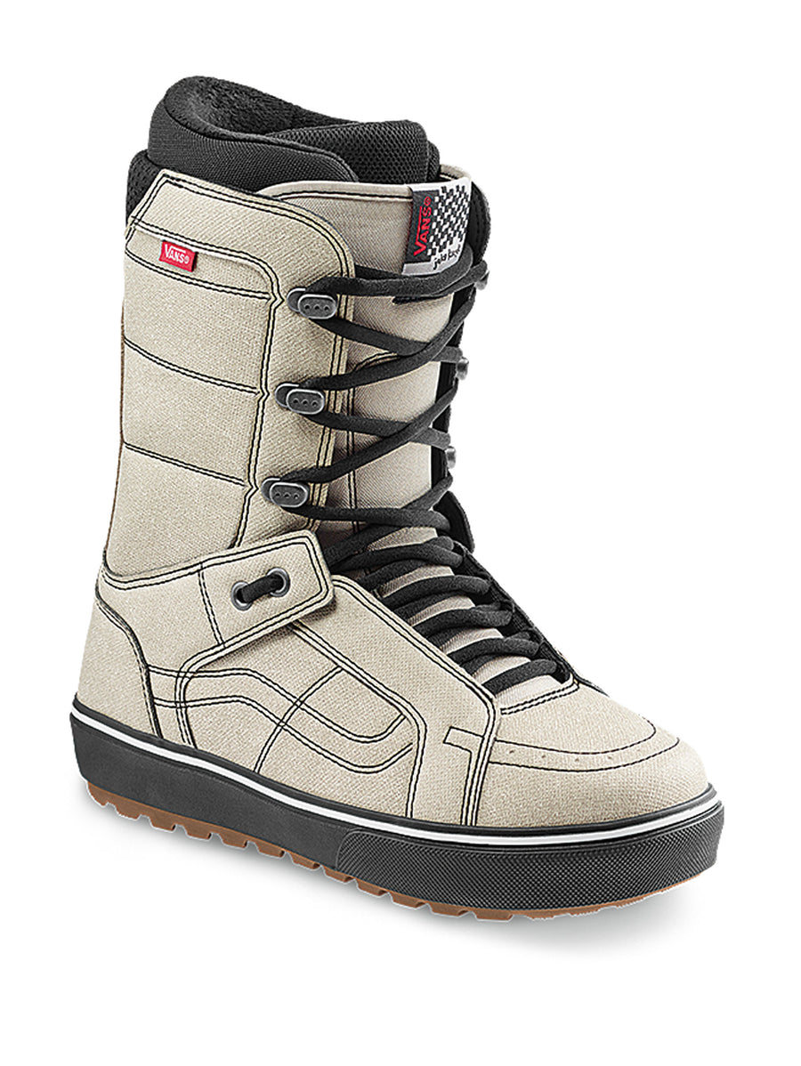 2021 Vans Hi-Standard OG Snowboard Boot in Moonbeam White Black (Jake Kuzyk Pro Model )