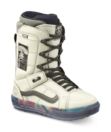 2022 Vans Hi-Standard Og Snowboard Boot in Gray and Vaporous Gray Public Brand Color