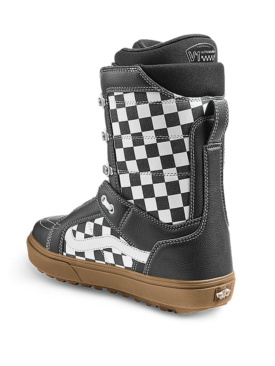 2021 Vans Hi-Standard OG Snowboard Boot in Camo and Checkerboard