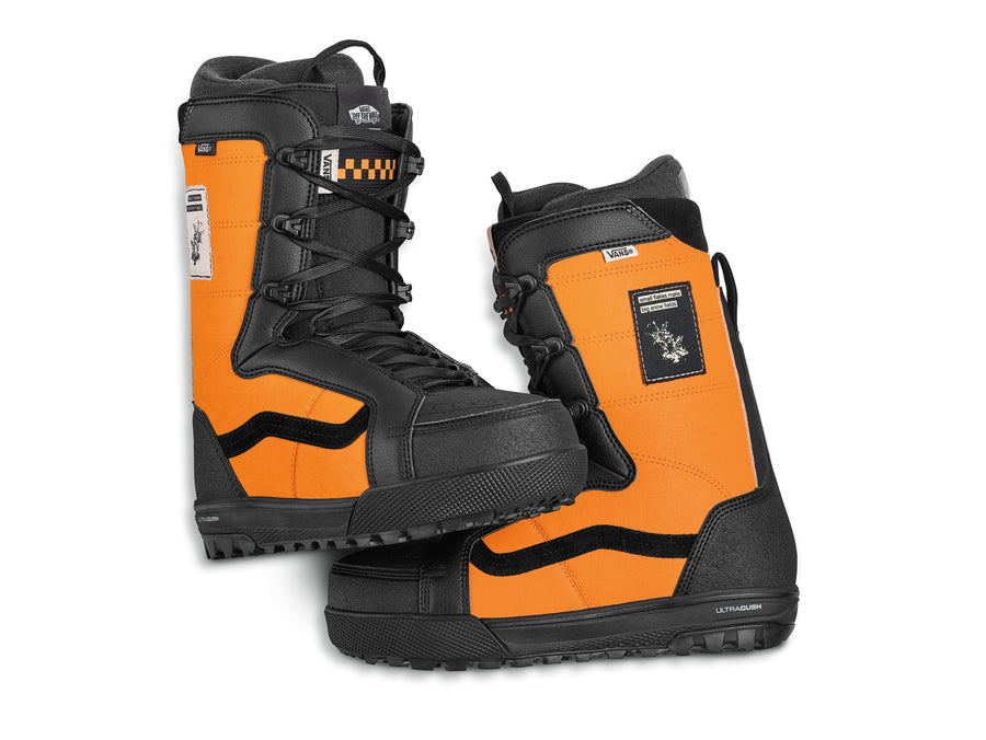 2021 Vans Hi-Standard Pro Snowboard Boot in Apricot and Black