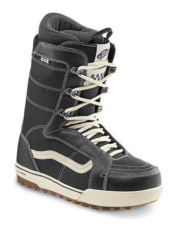 2021 Vans Hi-Standard Pro Snowboard Boot in Classic Black and White