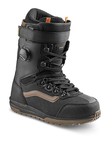 2021 Vans Infuse Snowboard Boot in Black and Canteen Brown