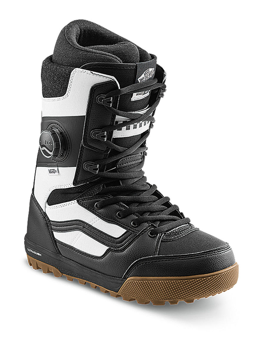 2021 Vans Invado Pro Snowboard Boot in Black and White