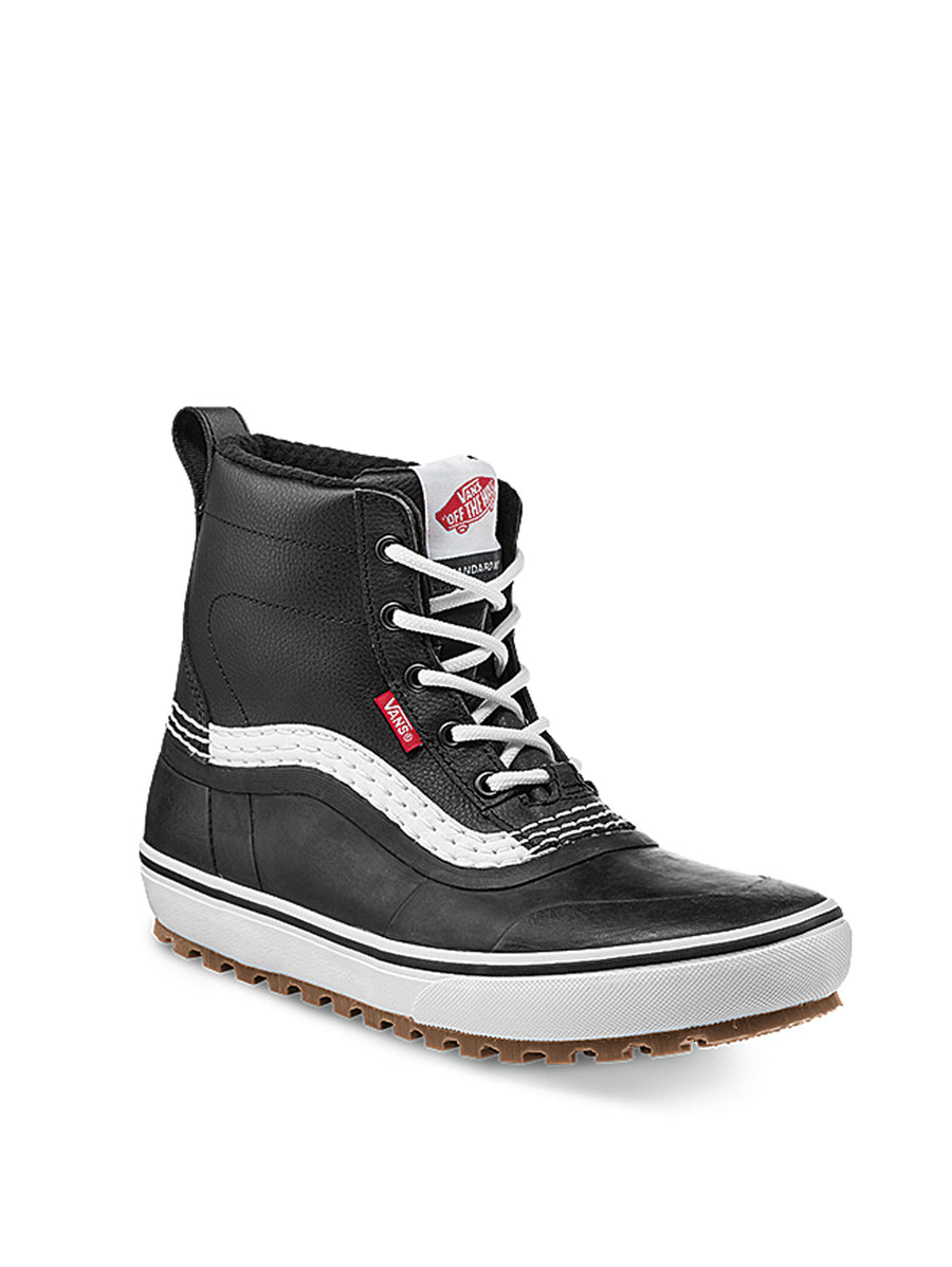2021 Vans Standard Mid MTE Snow Boot in Black and White