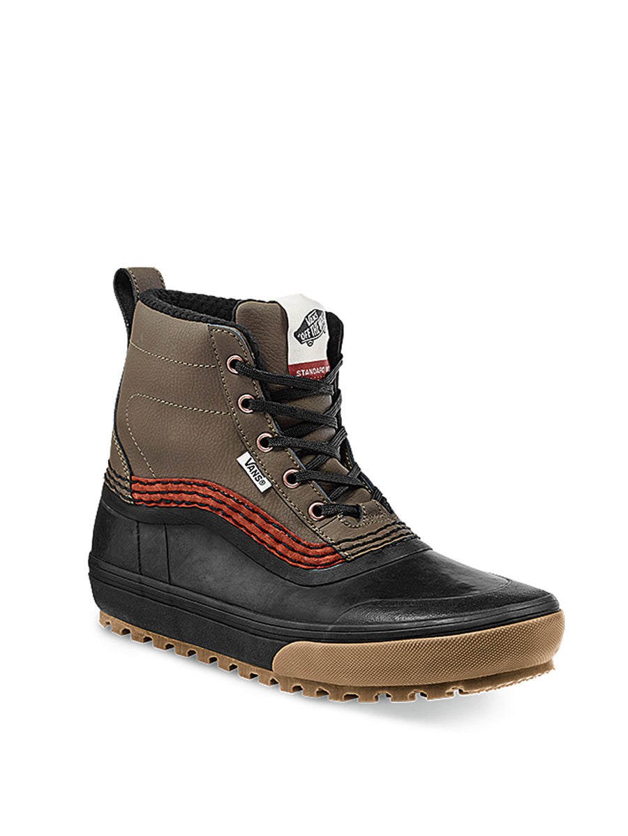 2021 Vans Standard Mid MTE Snow Boot in Canteen Brown and Black