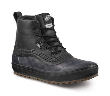 2022 Vans Standard Mid Snow Mte Boot in Checkerboard and Black
