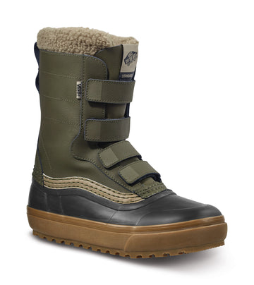 2022 Vans Standard V Snow Mte Boot in Grape Leaf and Timberwolf