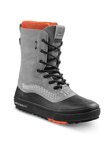 2021 Vans Standard MTE Snow Boot in Gray and Black (Sam Taxwood Pro Model )