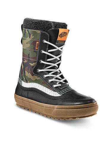2021 Vans Standard MTE Snow Boot in Camo and Checkerboard