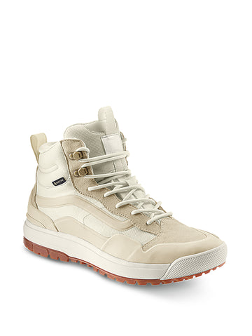 2021 Vans Ultrarange EXO HI MTE Gore-Tex Snow Shoe in Oatmeal and Marshmallow White