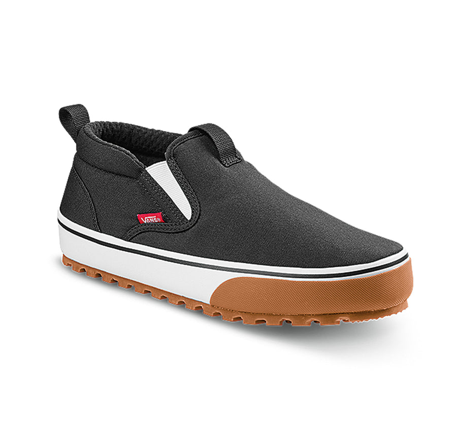 2021 Vans Snow Lodge MID MTE Slipper in Black and White