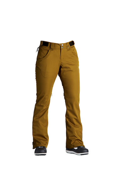 2021 Airblaster Womens My Brothers Pant in Dark Gold