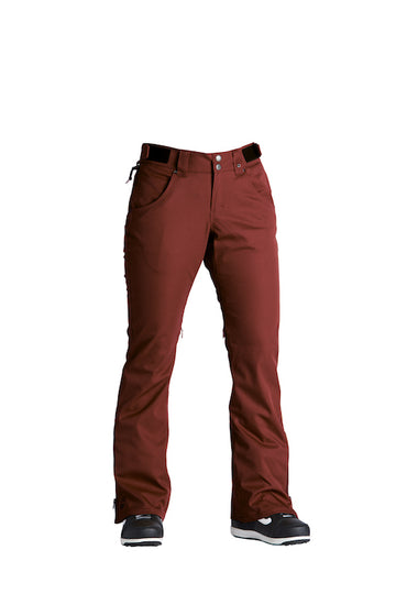 2021 Airblaster Womens My Brothers Pant in Oxblood