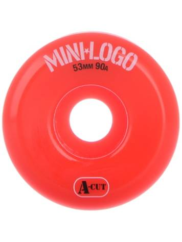 Mini Logo Hybrid A-Cut 53mm Skate Wheel in 90a Orange