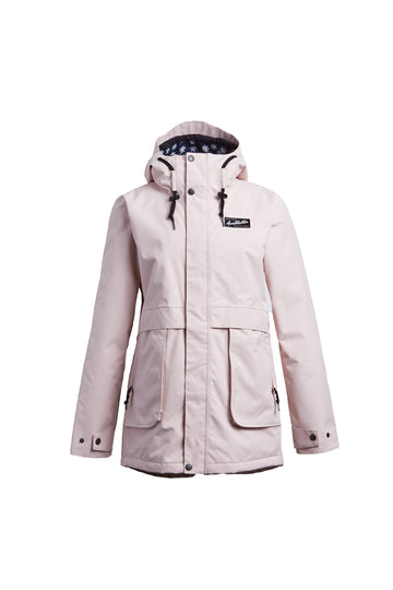 2022 Airblaster Nicolette Womens Snow Jacket in Blush