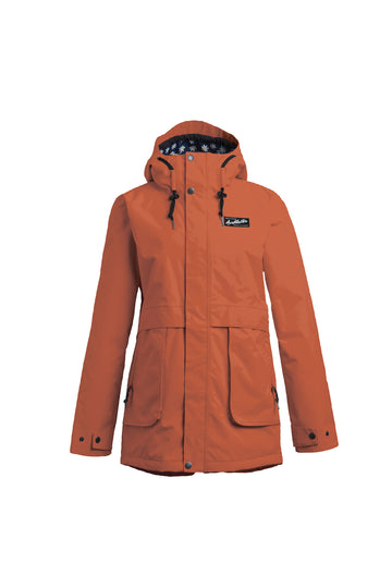 2022 Airblaster Nicolette Womens Snow Jacket in Copper