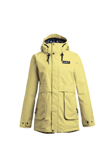 2022 Airblaster Nicolette Womens Snow Jacket in Custard
