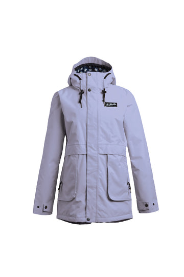 2022 Airblaster Nicolette Womens Snow Jacket in Lavender
