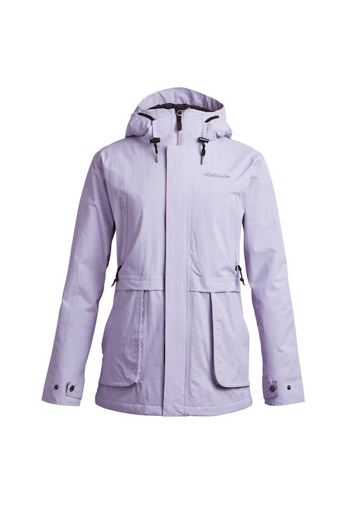 2021 Airblaster Womens Nicolette Jacket in Light Lavender