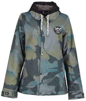 2020 Nikita Laurel Womens Jacket in Mountain Fatigue Camo