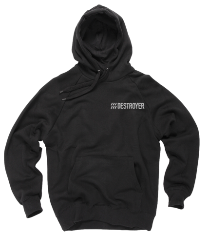 Destroyer Namedrop Hoodie in Black