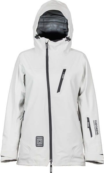 2021 L1 Nightwave Theorum Womens Snow Jacket in Ghost