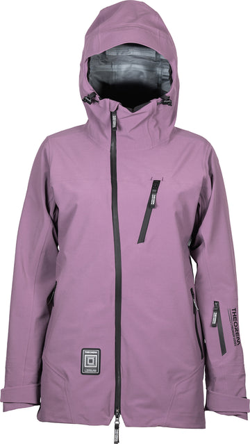 2021 L1 Nightwave Theorum Womens Snow Jacket in Lavender