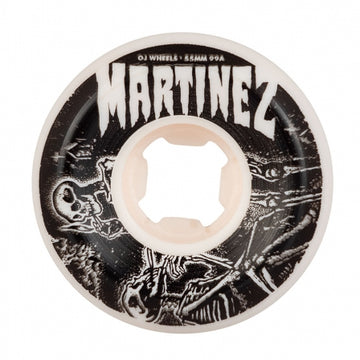 OJ Wheels 55mm Martinez Smoke Bros Elite Hardline Skate Wheel 99a