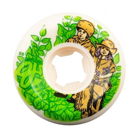OJ Wheels 55mm Nora the Explora Elite White Hardline 101a Skate Wheels