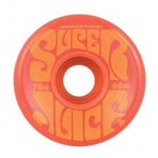 OJ Wheels 60mm Super Juice Skate Wheels in Orange 78a