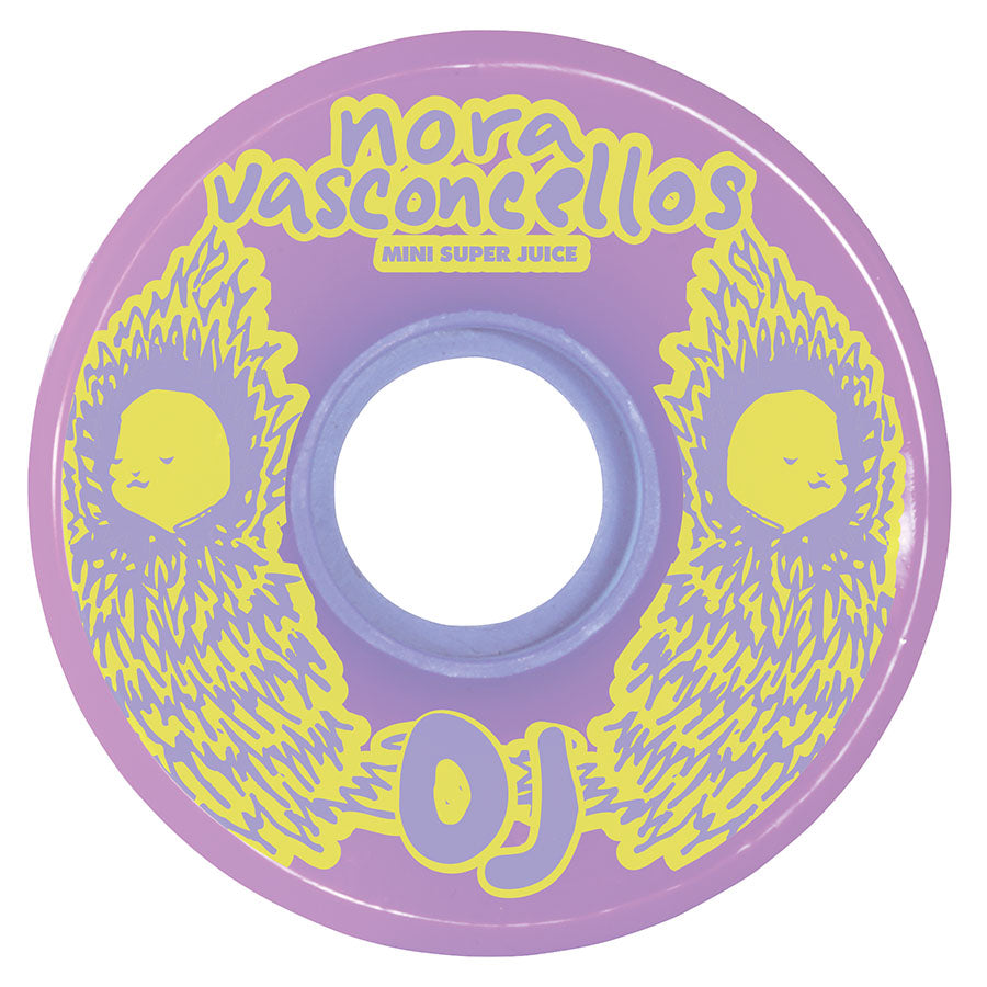 OJ Wheels 55mm Nora Vasconcellos Mini Super Juice 78a Skate Wheel