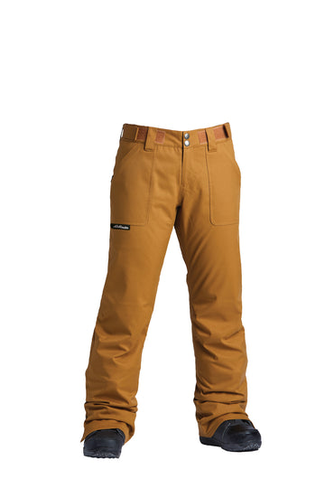 2022 Airblaster Party Womens Snow Pant in Grizzly