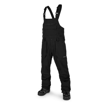 2020 Volcom Roan Bib Snow Overall in Black