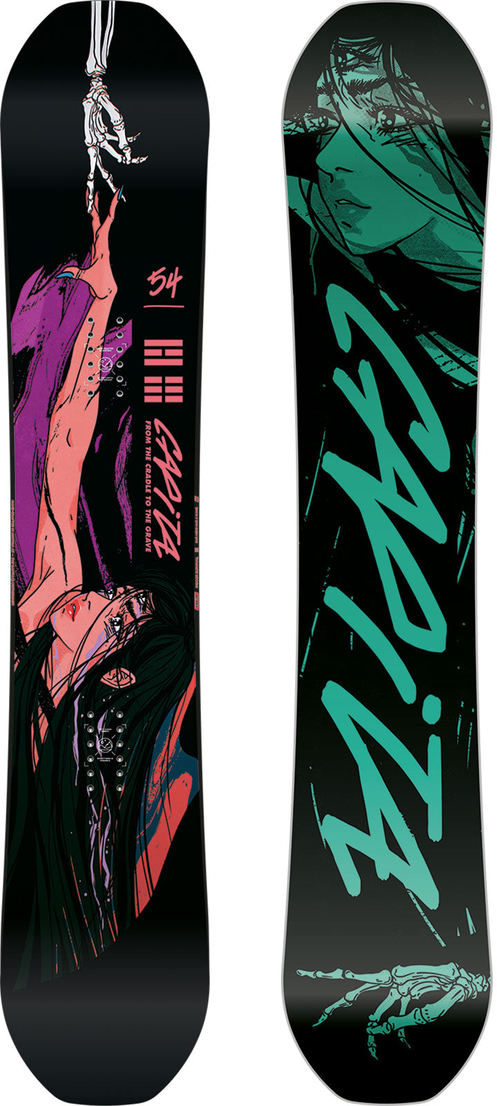 2021 Capita Indoor Survival Snowboard