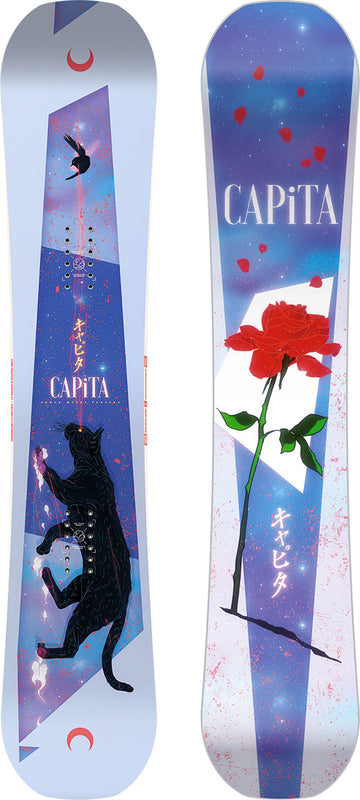 DEMO 2021 Capita Space Metal Fantasy Womens Snowboard