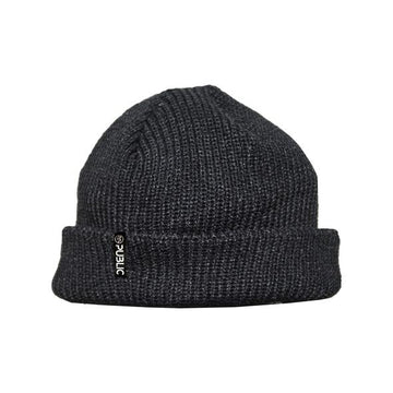 Public Flag Beanie in Black