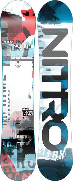2022 Nitro Prime Collage Wide Snowboard