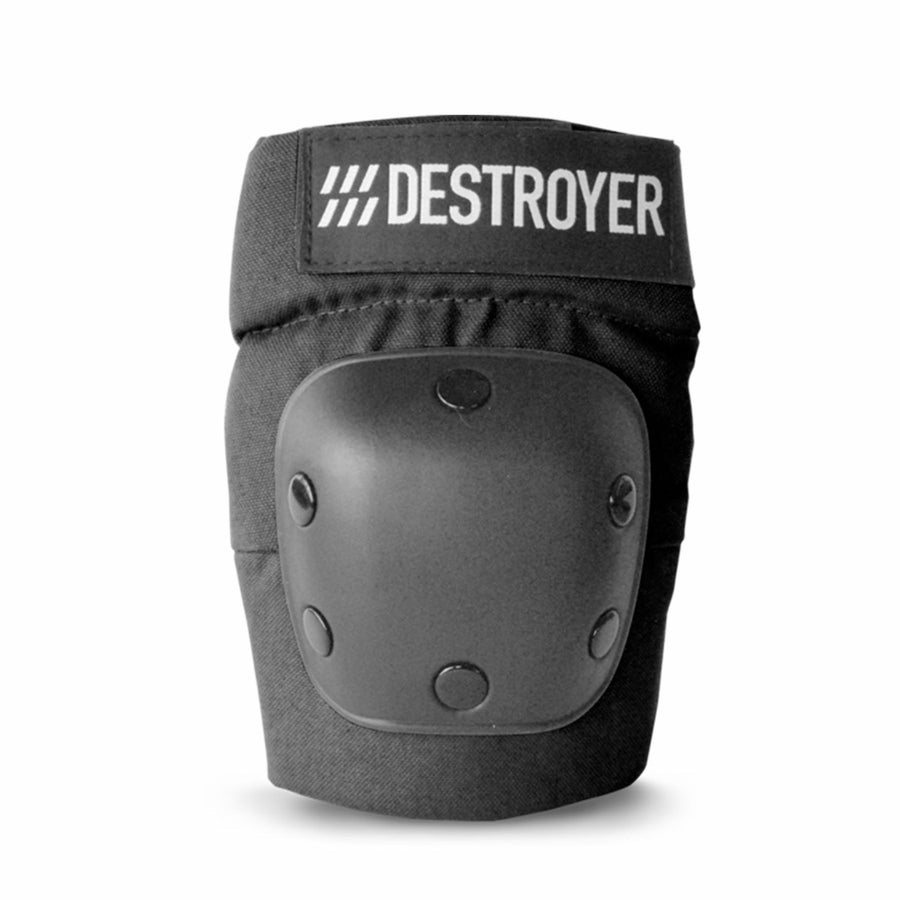 Destroyer R Series Elbow Pad in Black