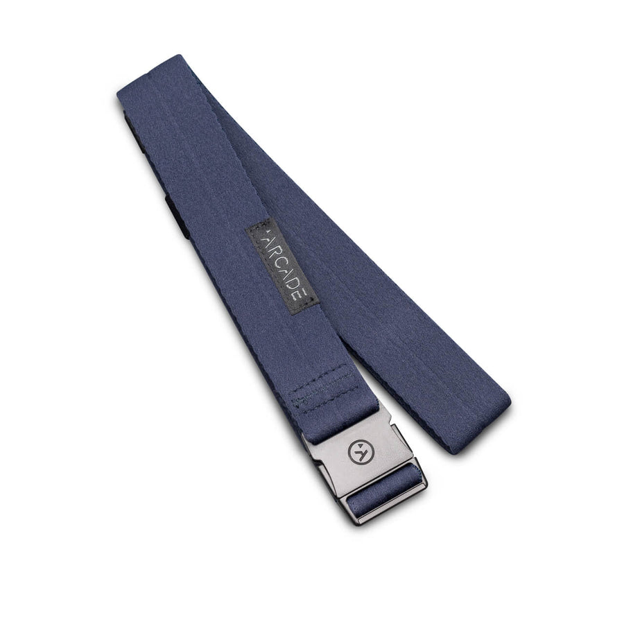 Arcade Ranger Slim Belt in Moon Blue