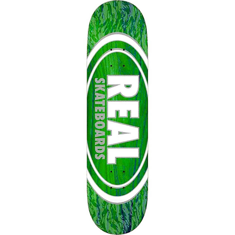 Real Oval Pearl Patterns Skateboard