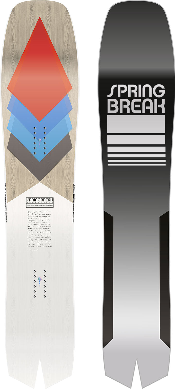 2021 Capita Spring Break Powder Snowboard Series